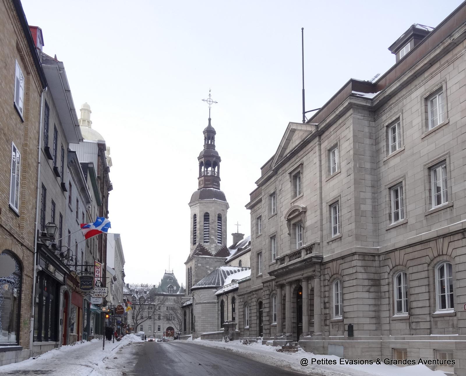 La Basilique-Cathédrale Notre-Dame de Québec
