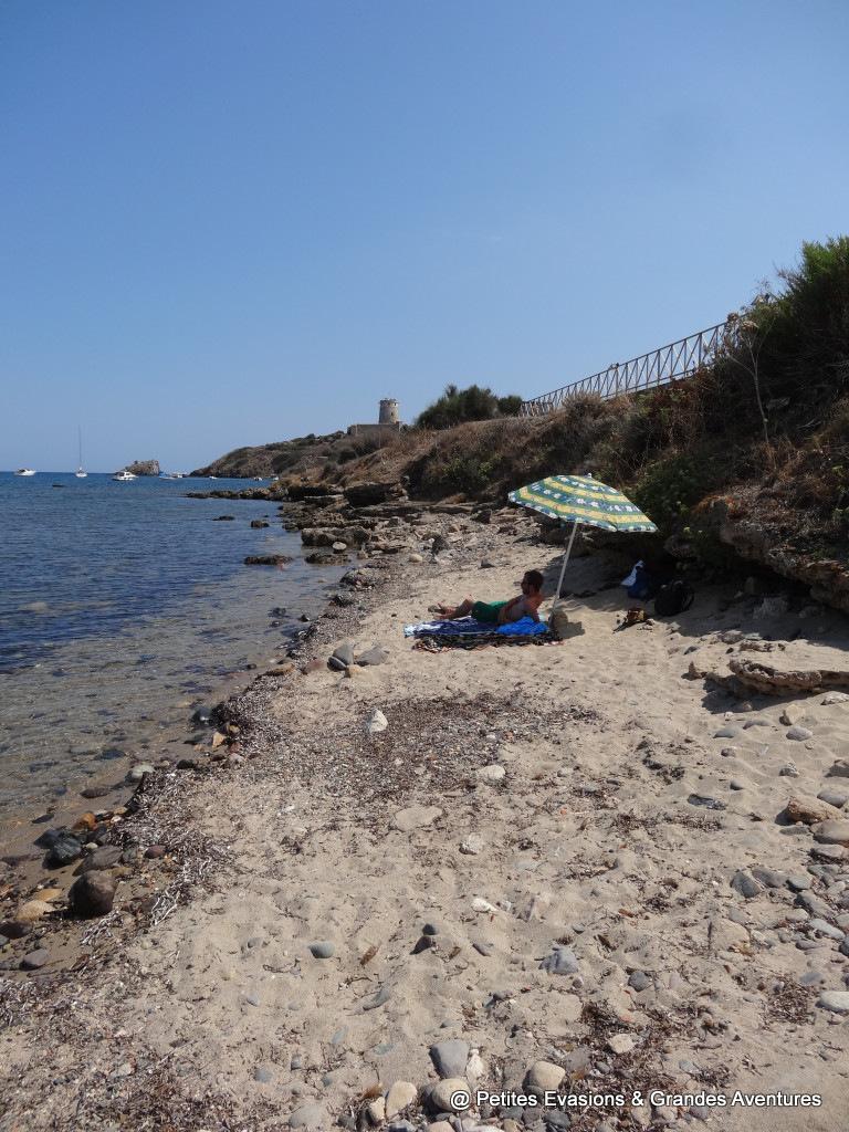 Spiaggia di Nora Sardaigne