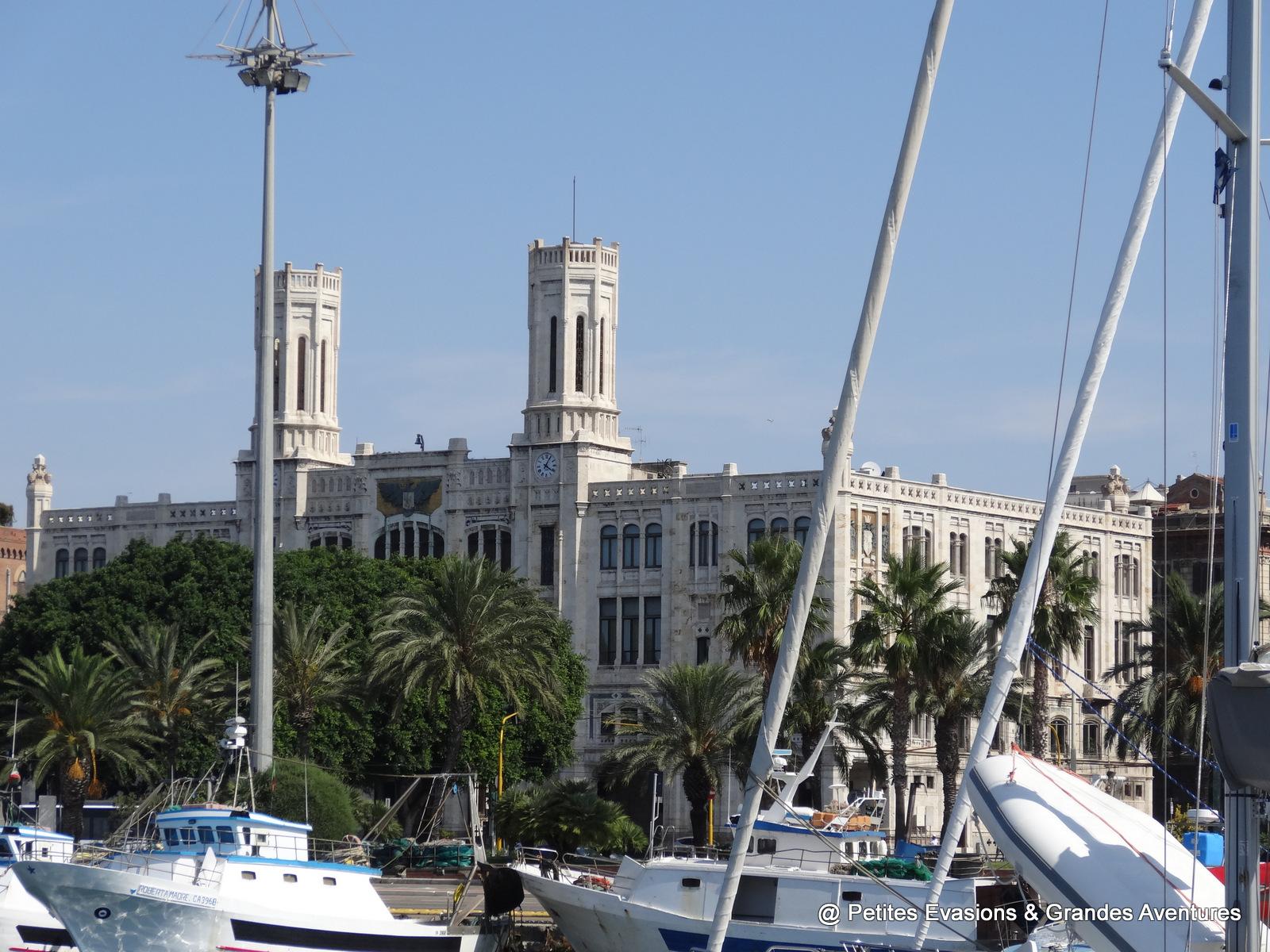 Bâtiment qui accueille l'hôtel de ville de Cagliari