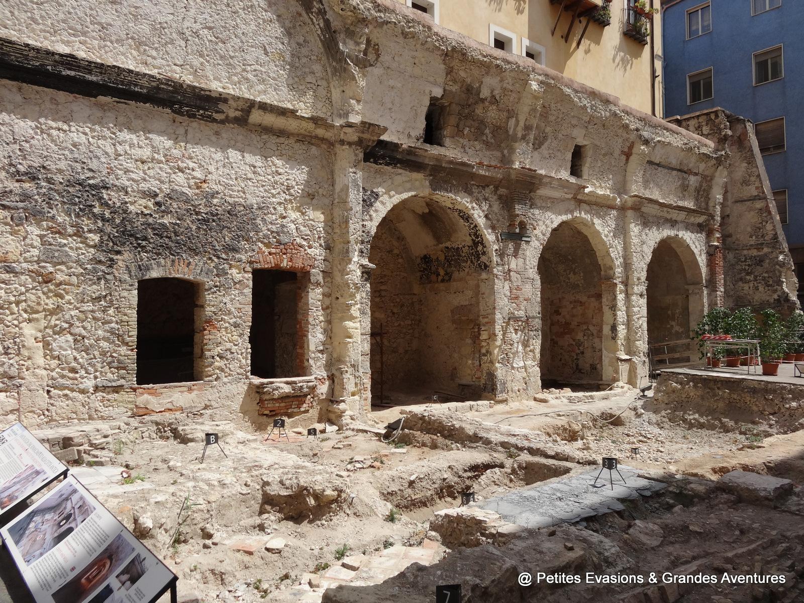 Vestiges de la Chiesa Santa Lucia sur la Via Sardegna, Cagliari