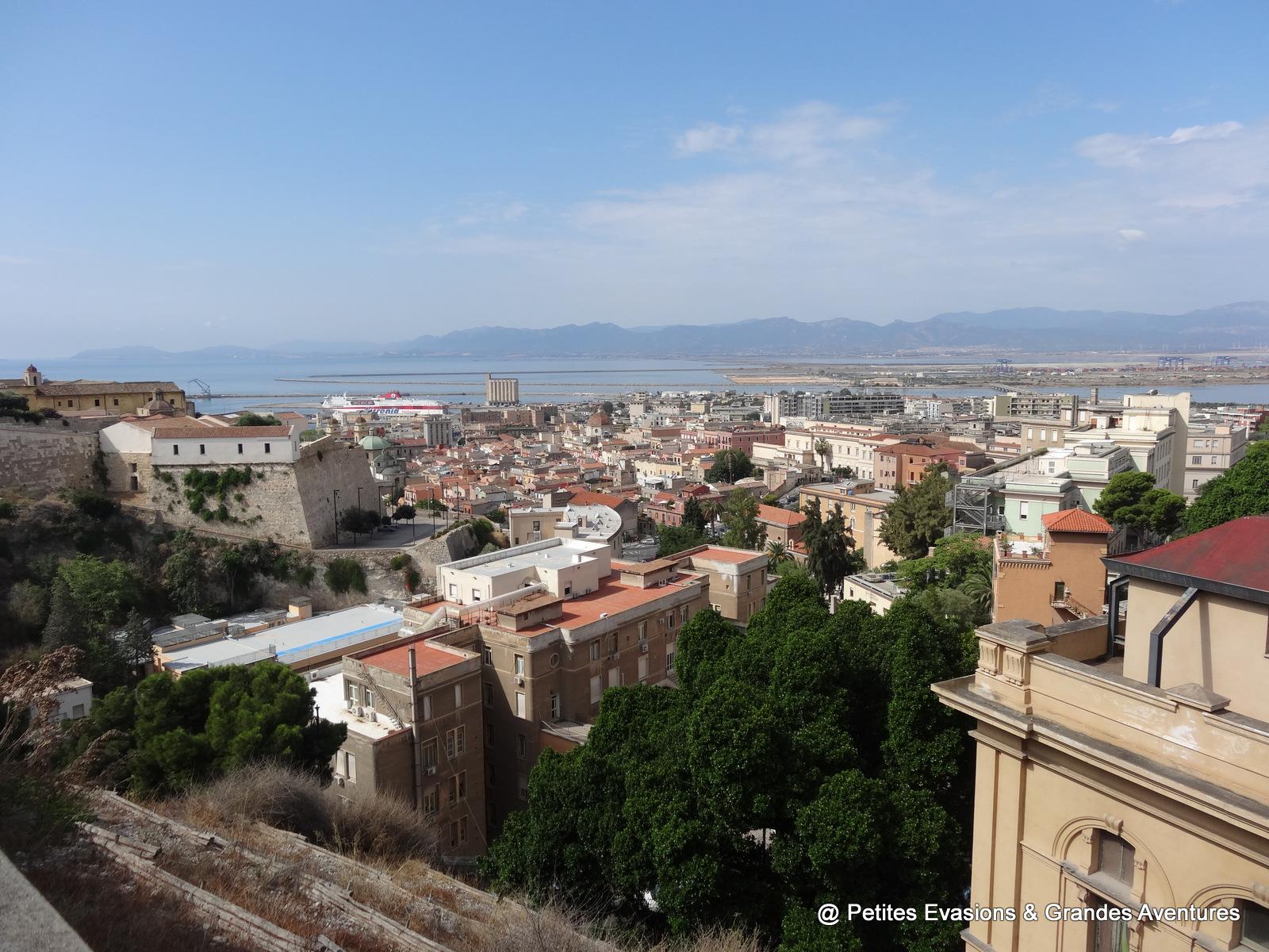 Vue sur Cagliari