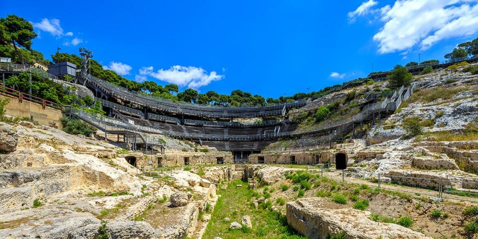 L'amphithéâtre de Cagliari