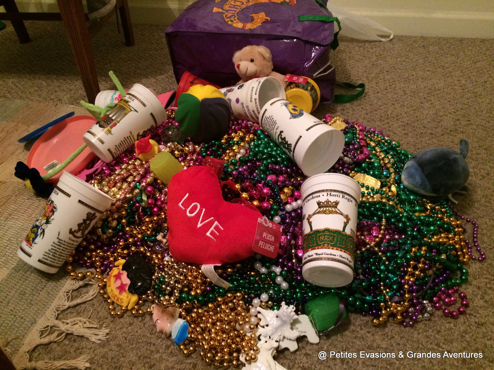 Beads road trip Louisiane