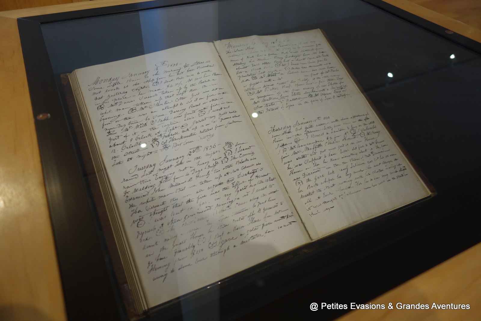 Le journal de William Jonhson