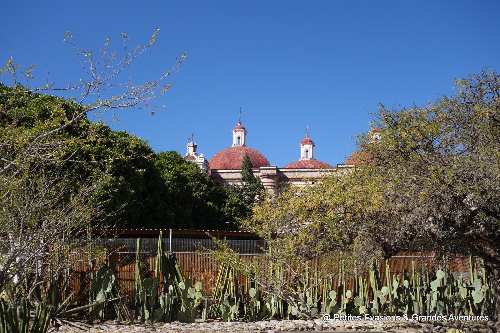 Les toits de l'Eglise de Mitla