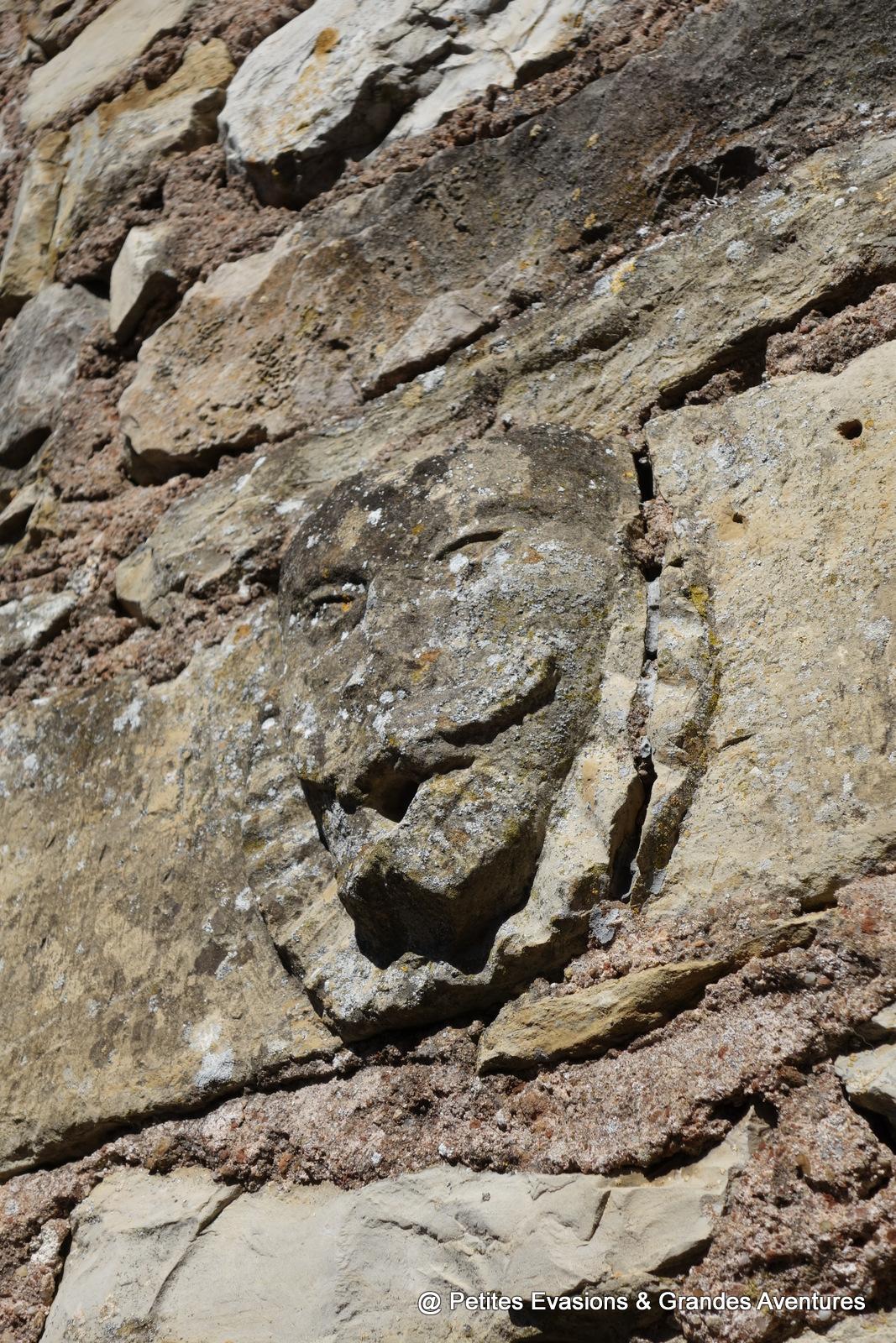 Détail sculpté - Trou de Bozouls