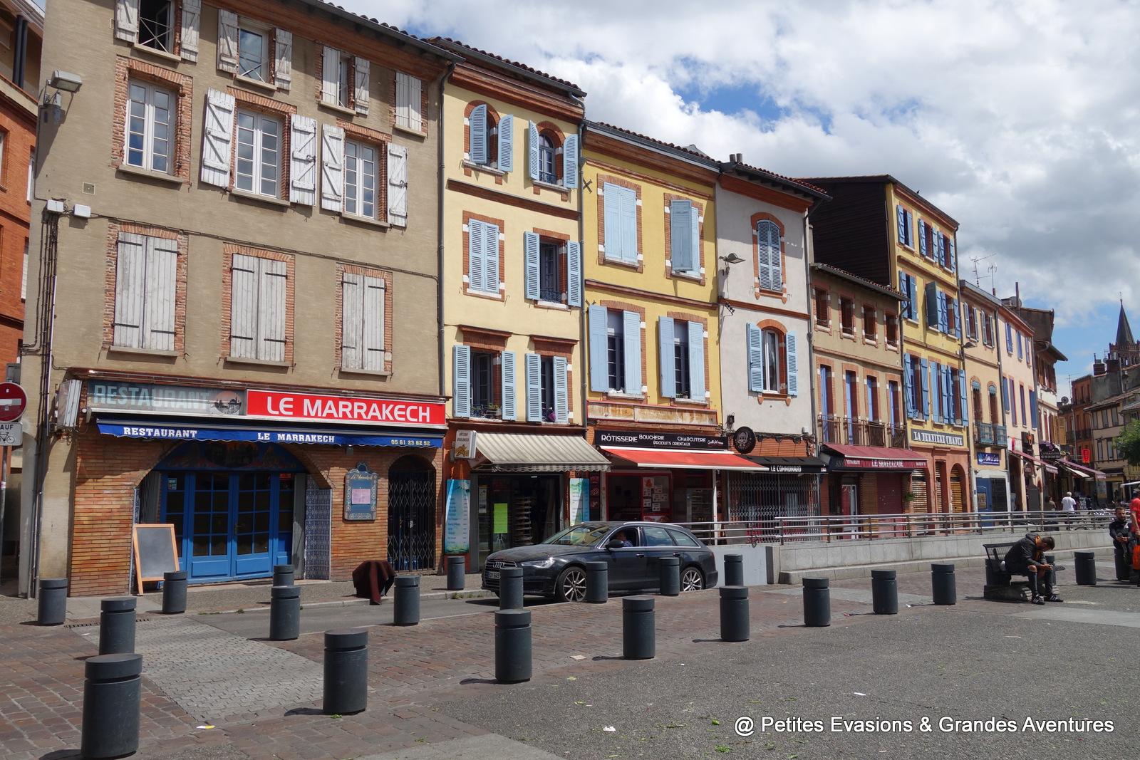 Place Arnaud Bernard Toulouse