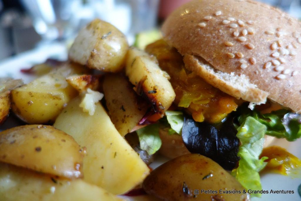 Burgen vegan et potatoes