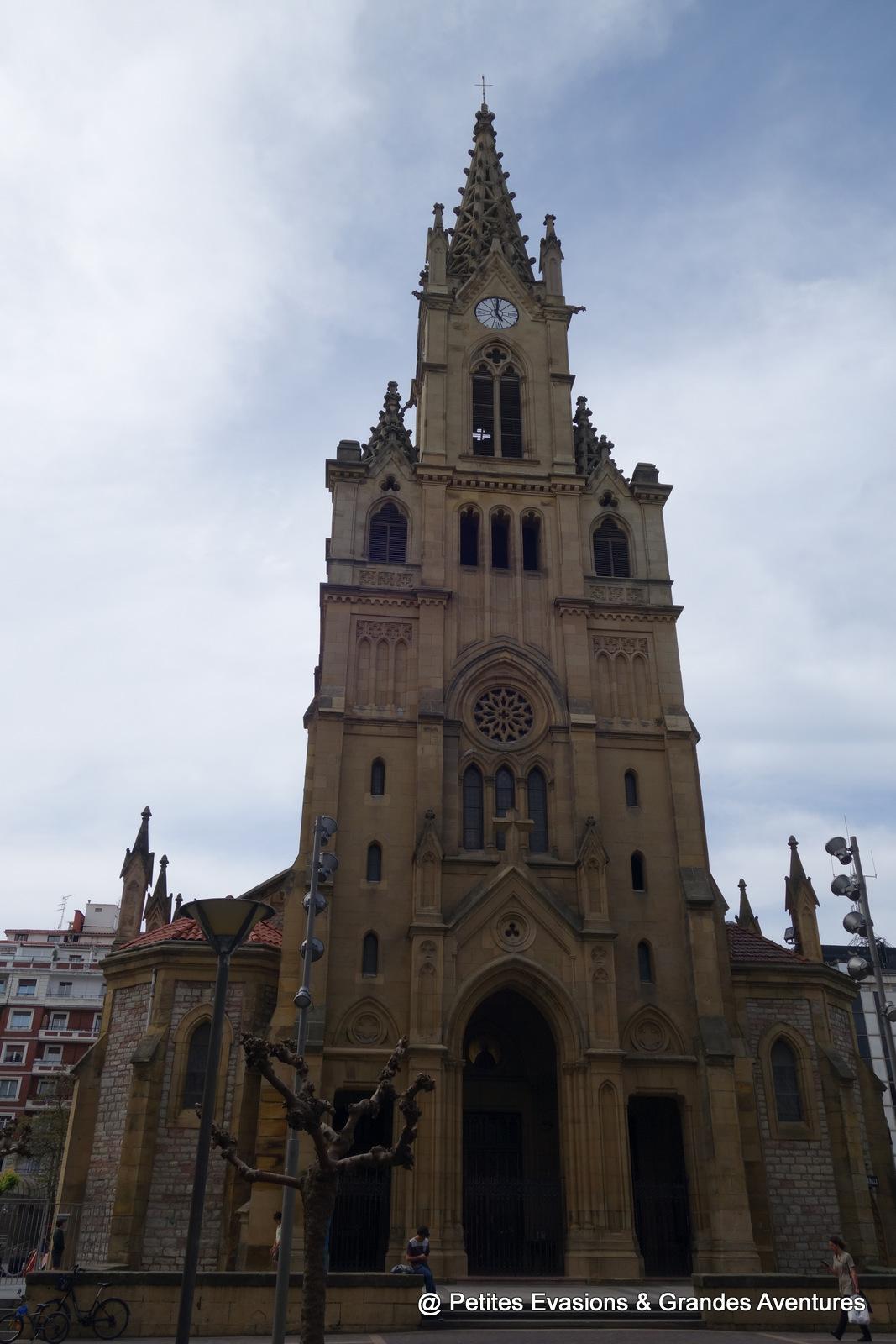 L'église San Ignacio à San Sebastian