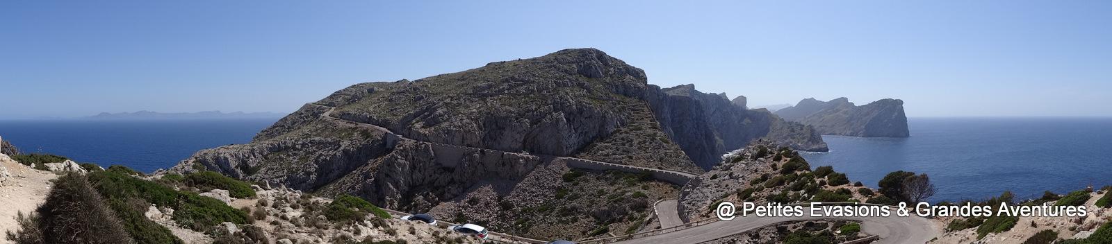 Route pour aller au Cap de Formentor
