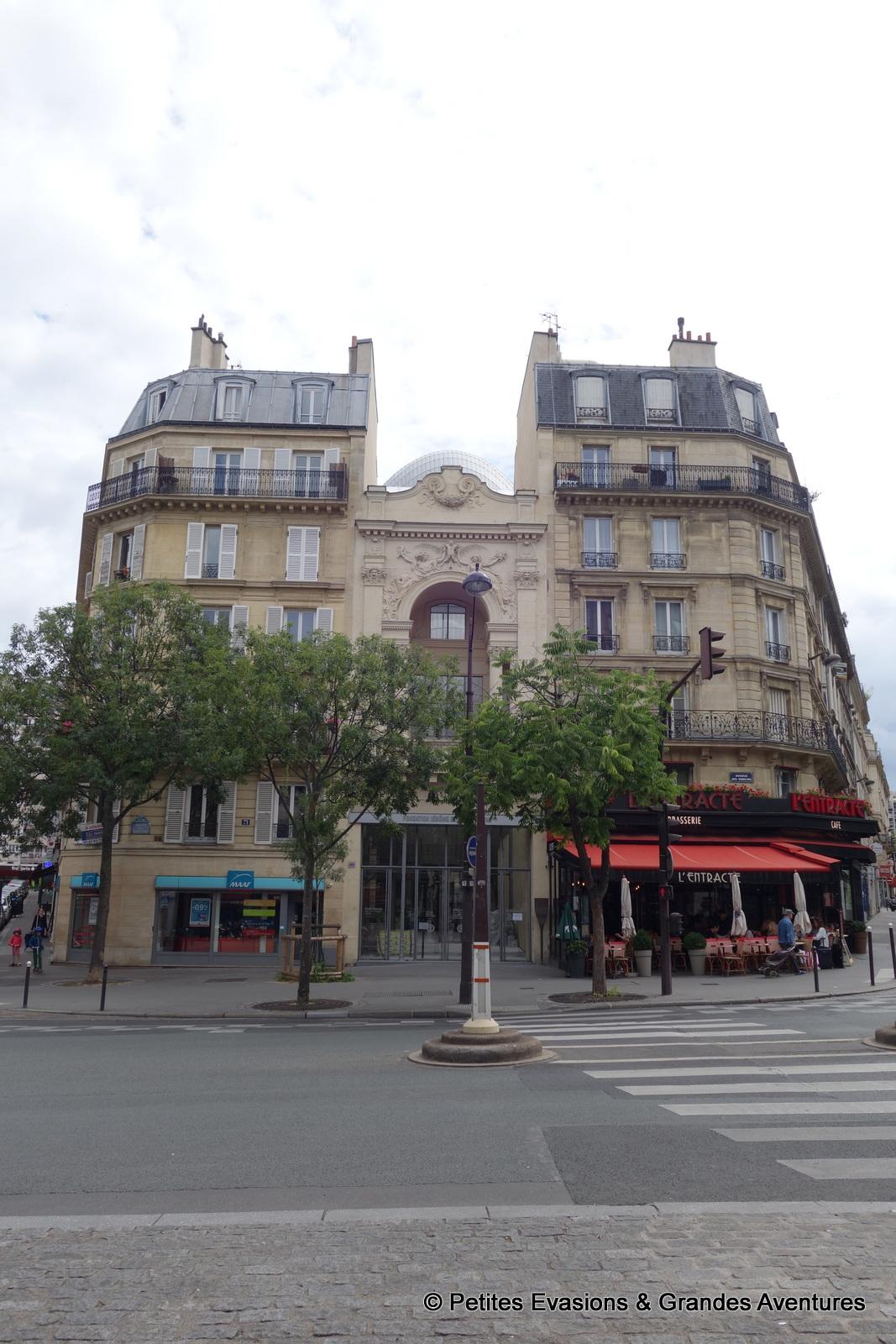 l'ancien Théâtre des Gobelins, siège de la la Fondation Jérôme Seydoux-Pathé