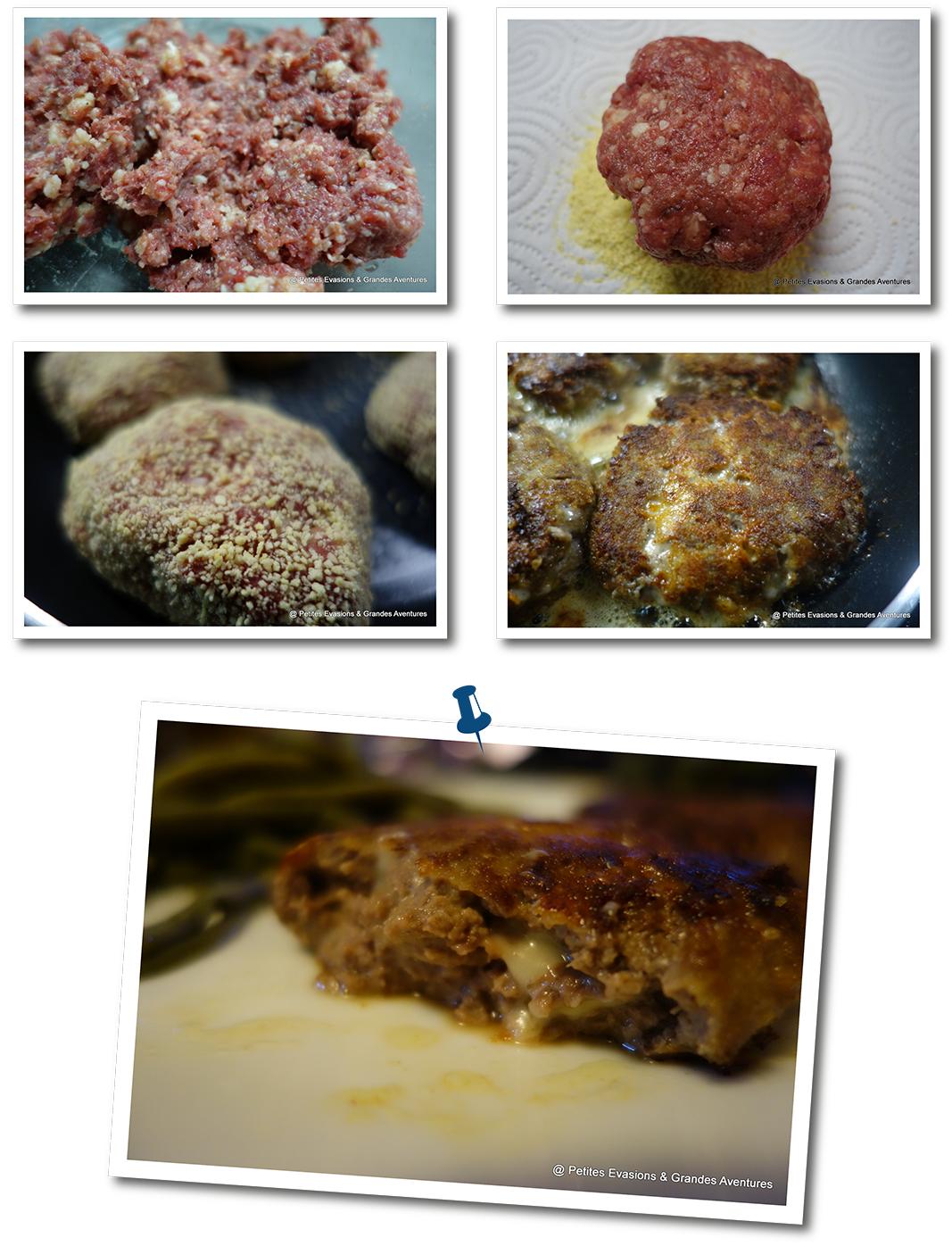 boulettes boeuf cantal recette