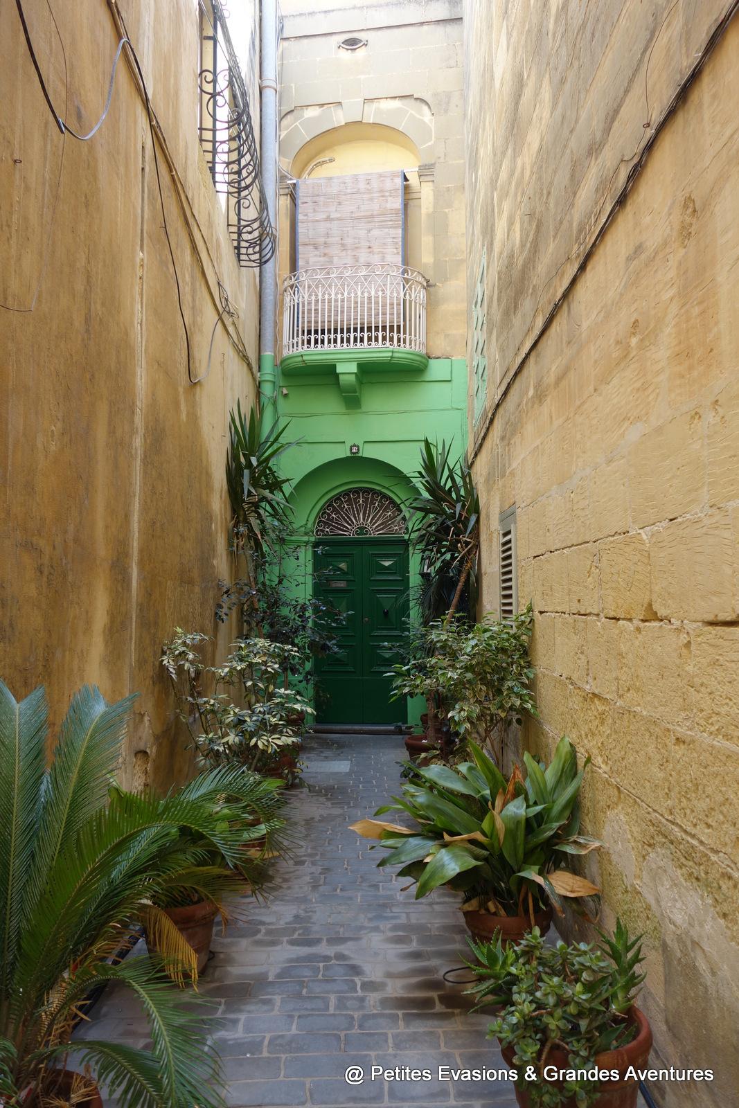 Porte colorée à Victoria (Gozo)