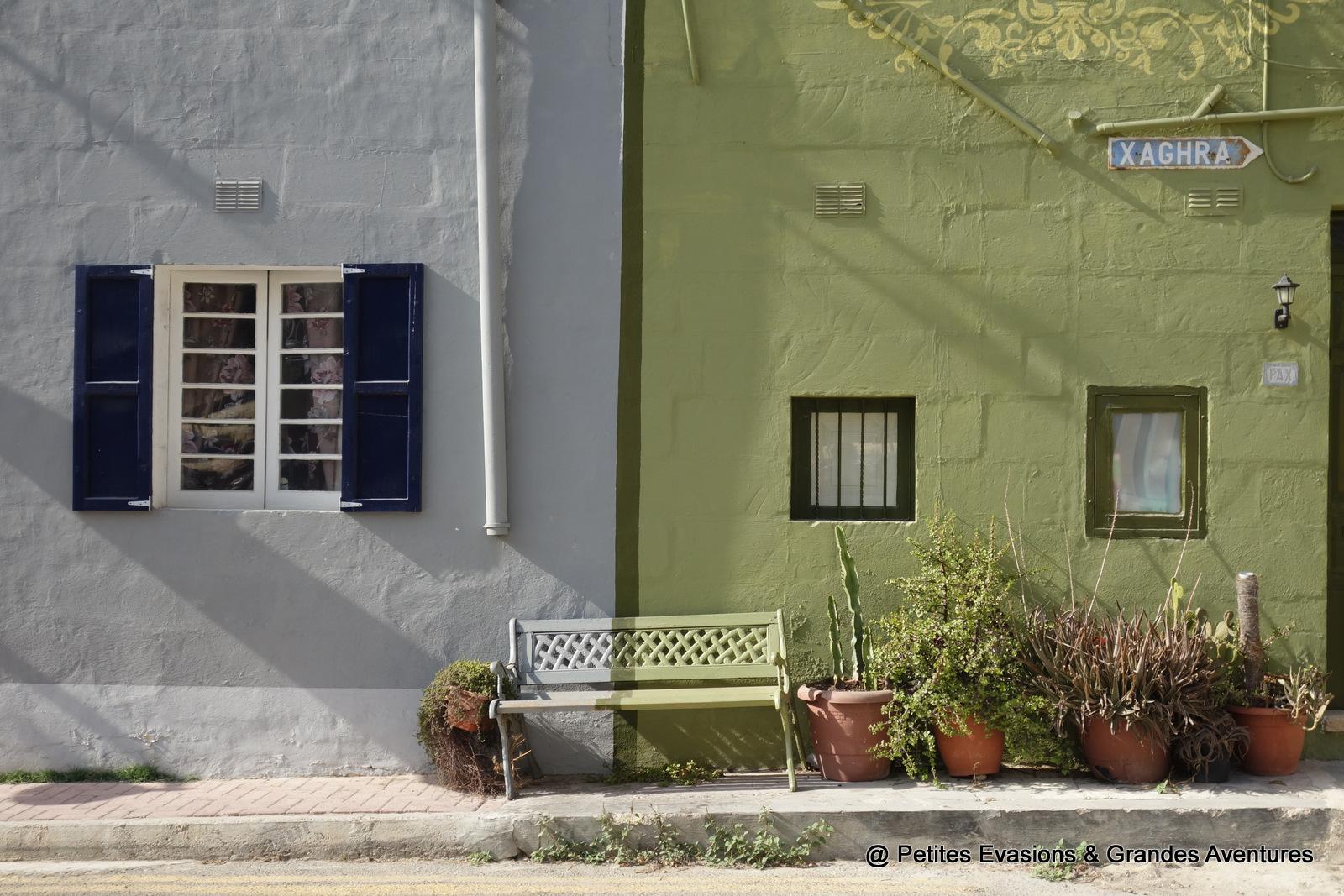 Façades colorées à Marsalforn (Gozo)