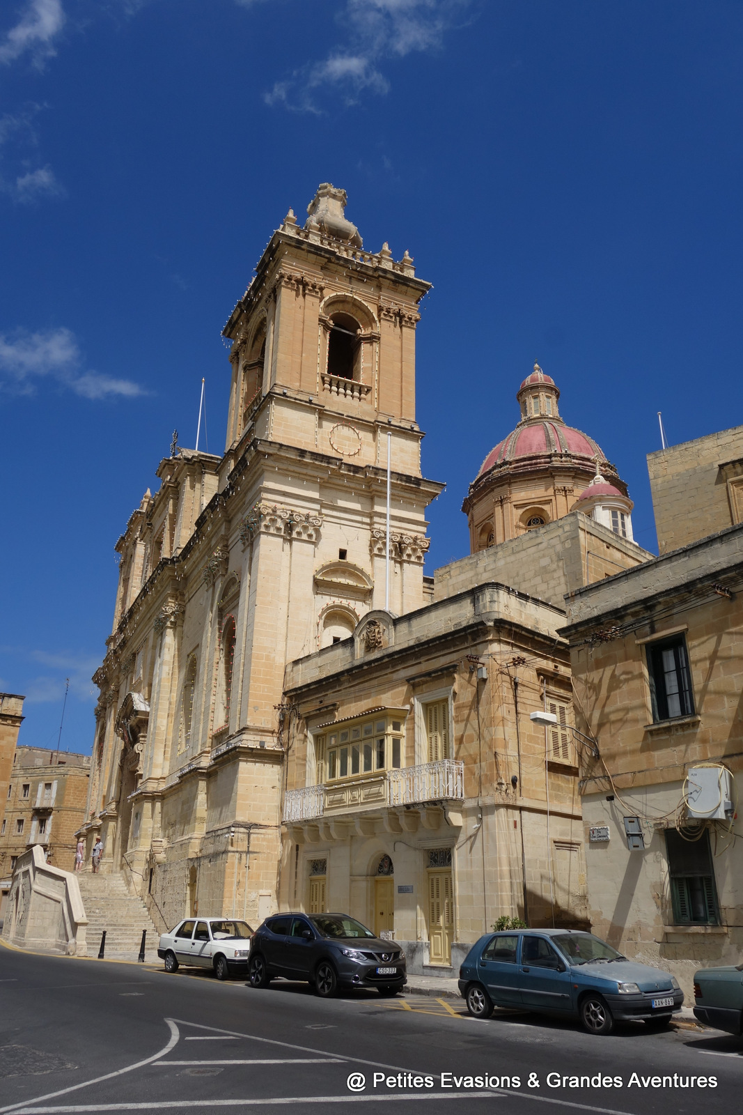 St Lawrence's Church à Vittoriosa (Malte)