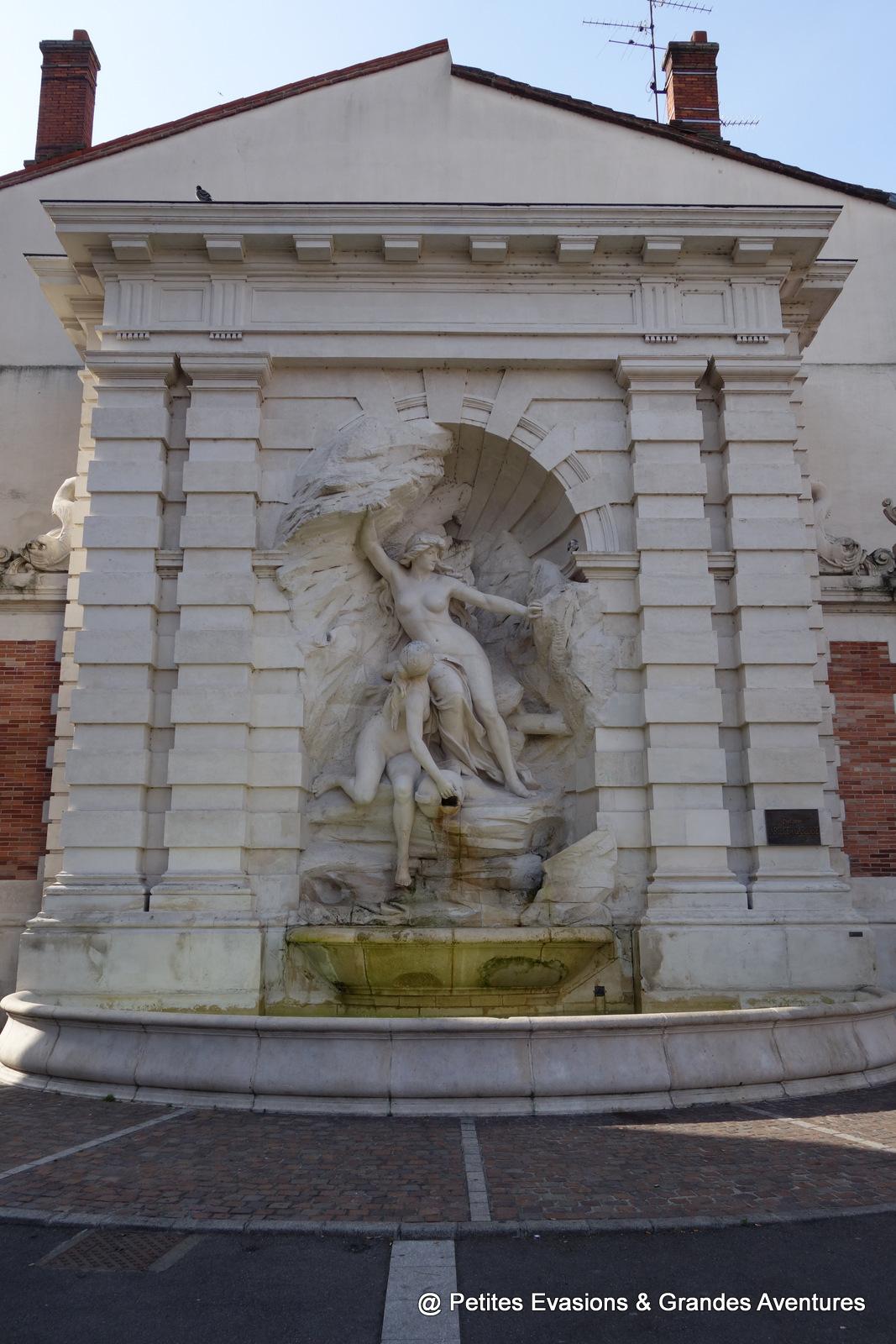 Fontaine Ariège Garonne Toulouse