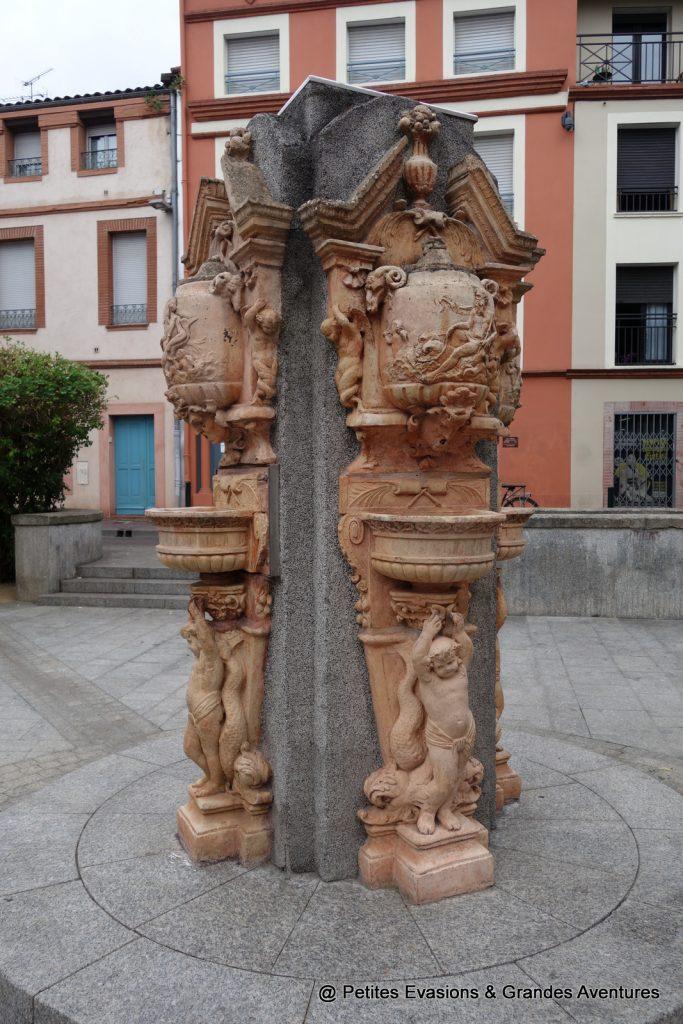 Fontaine de la Place des Tiercerettes Toulouse