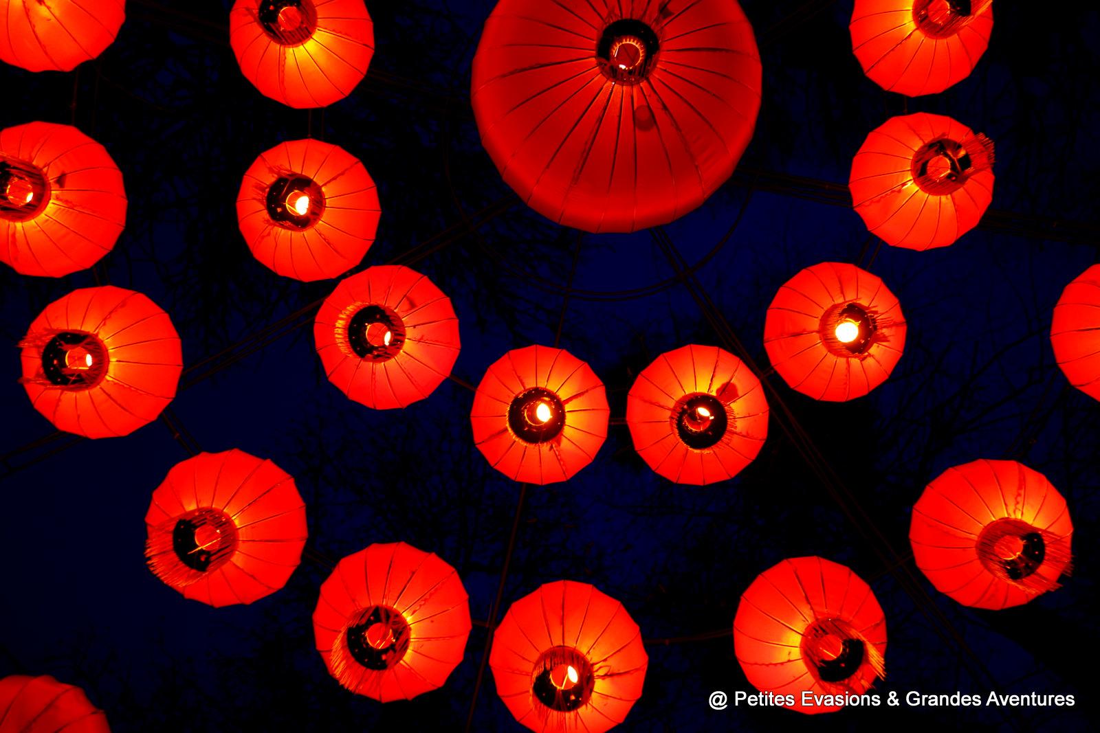 photographie lampions Festival de Gaillac