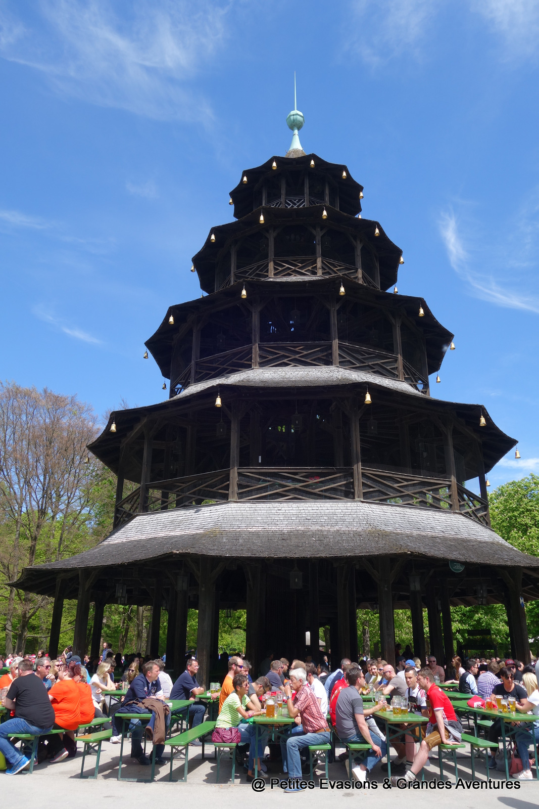 Tour chinoise de l'Englischer Garden - Munich