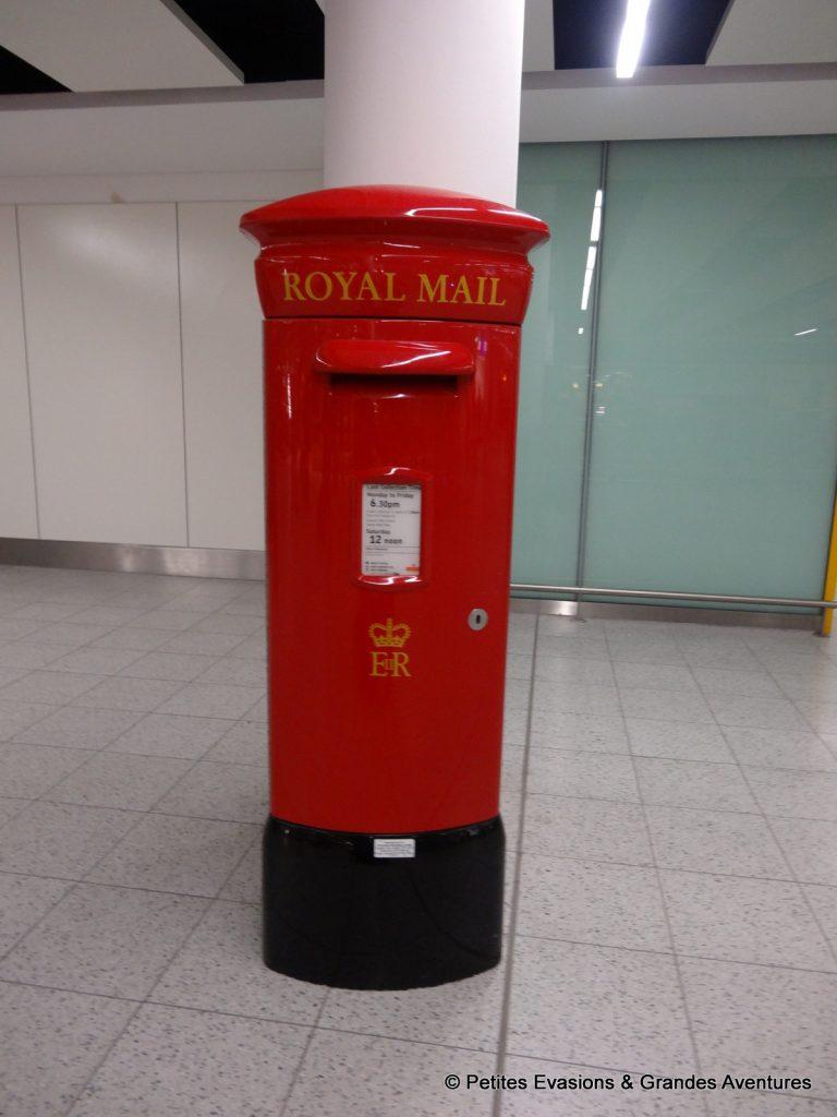 Boîte aux lettres londonienne