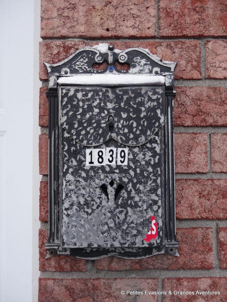 Boîte aux lettre Québec
