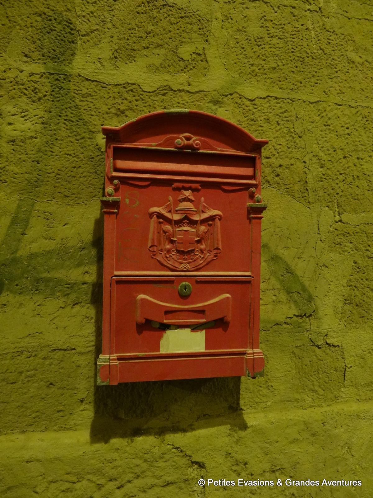 Boîte aux lettre sarde