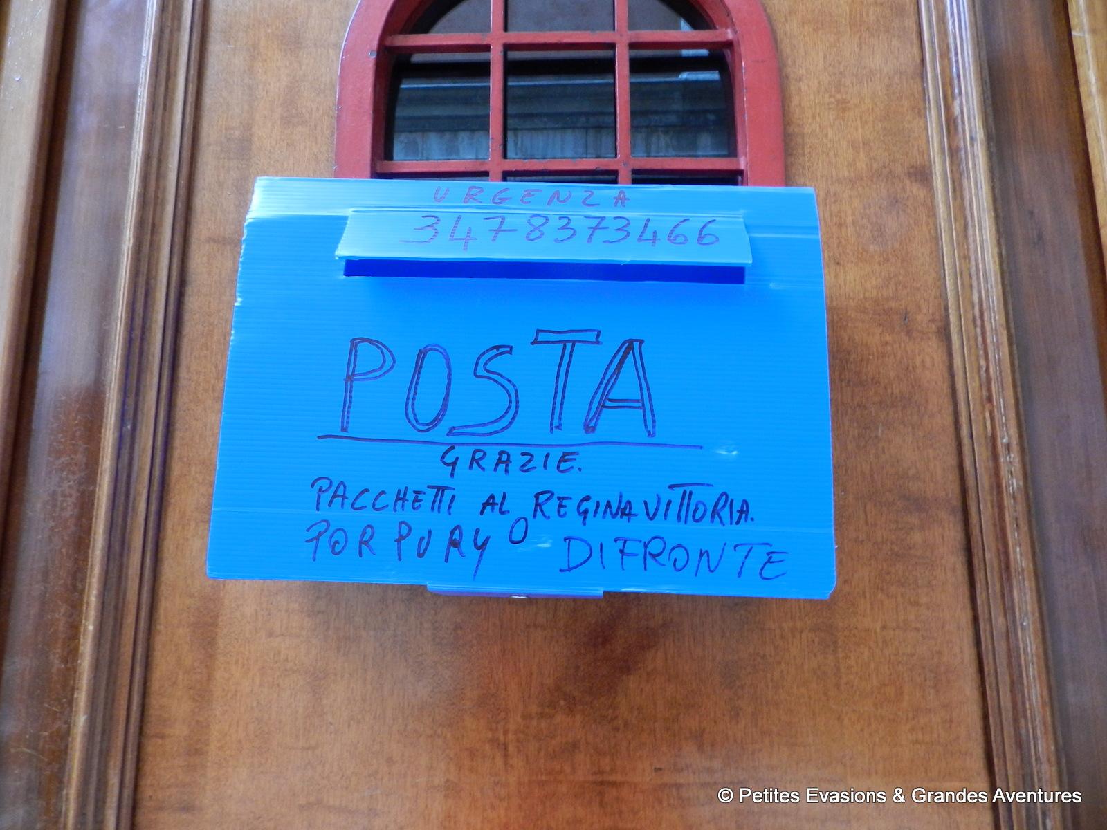 Boîte aux lettres vénitienne