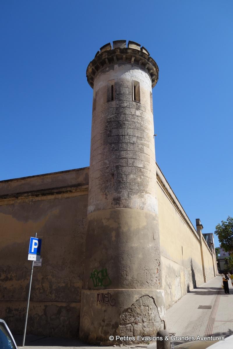 Mur d'enceinte de la Carcere di San Sebastiano