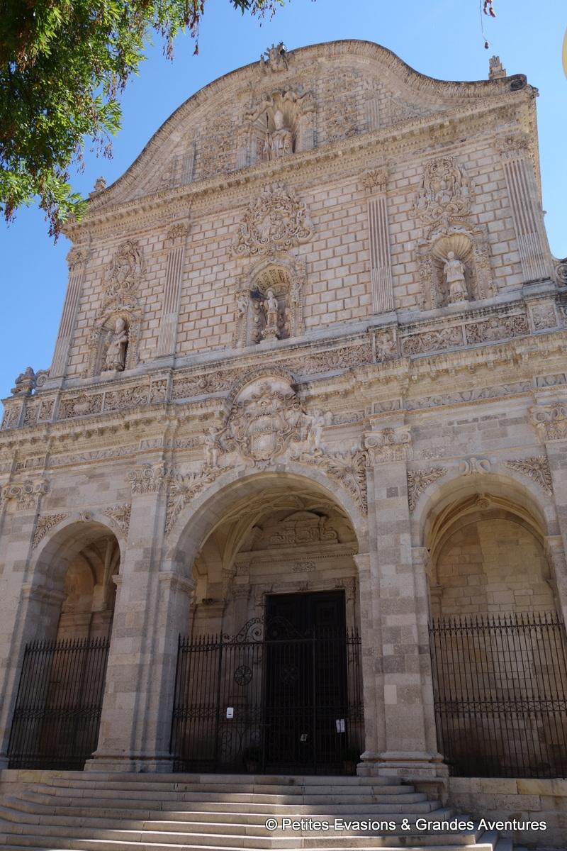 Façade de la Cattedrale di San Nicola
