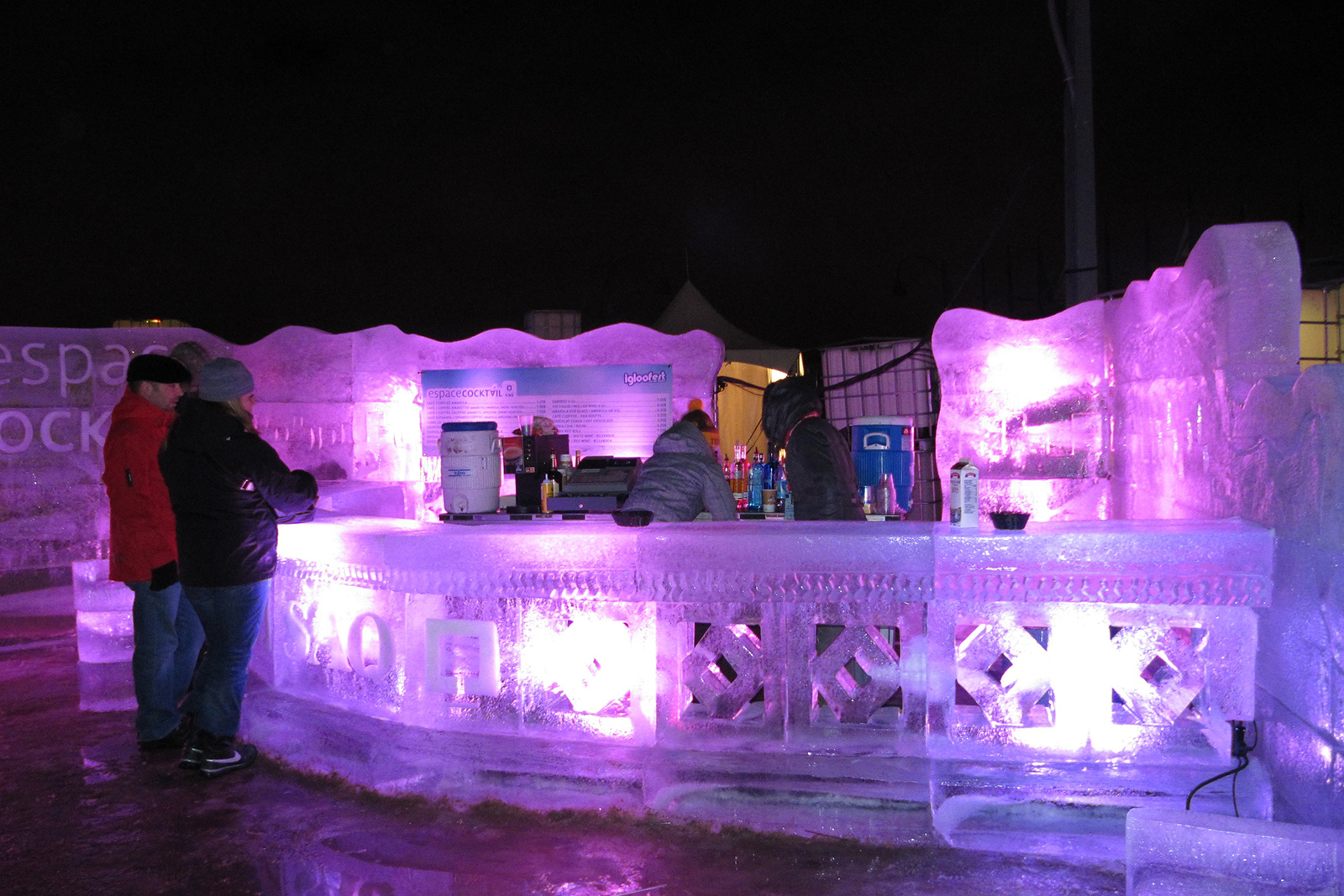 Igloofest Montréal hiver