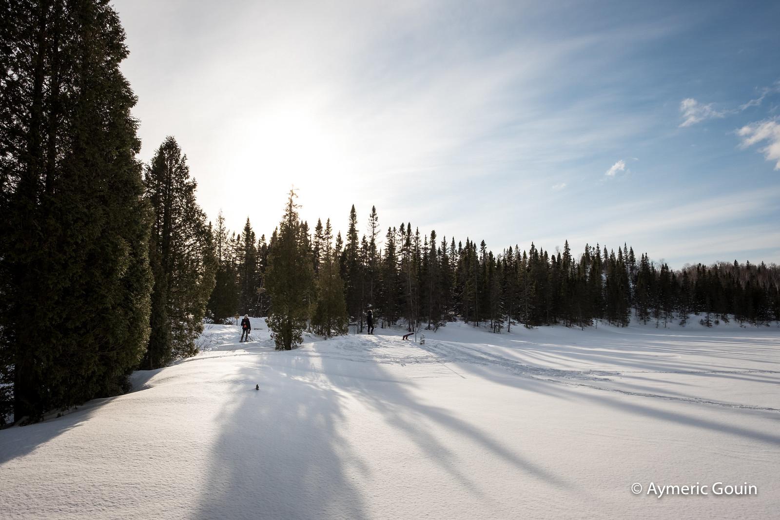 Monts-Valin Québec hiver