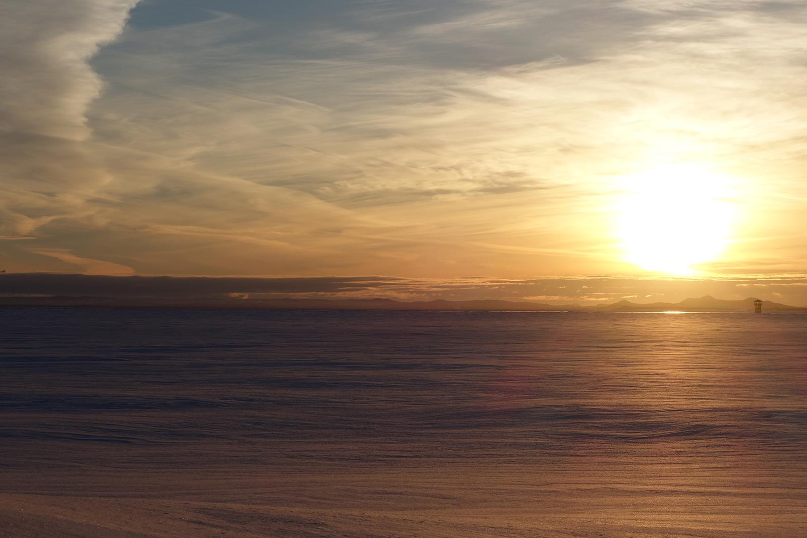 Carleton-sur-Mer Québec hiver