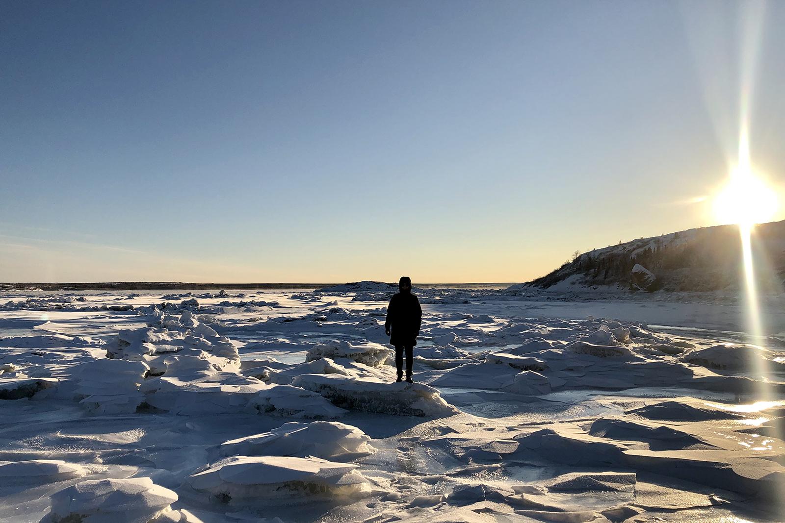 Nunavik Québec hiver