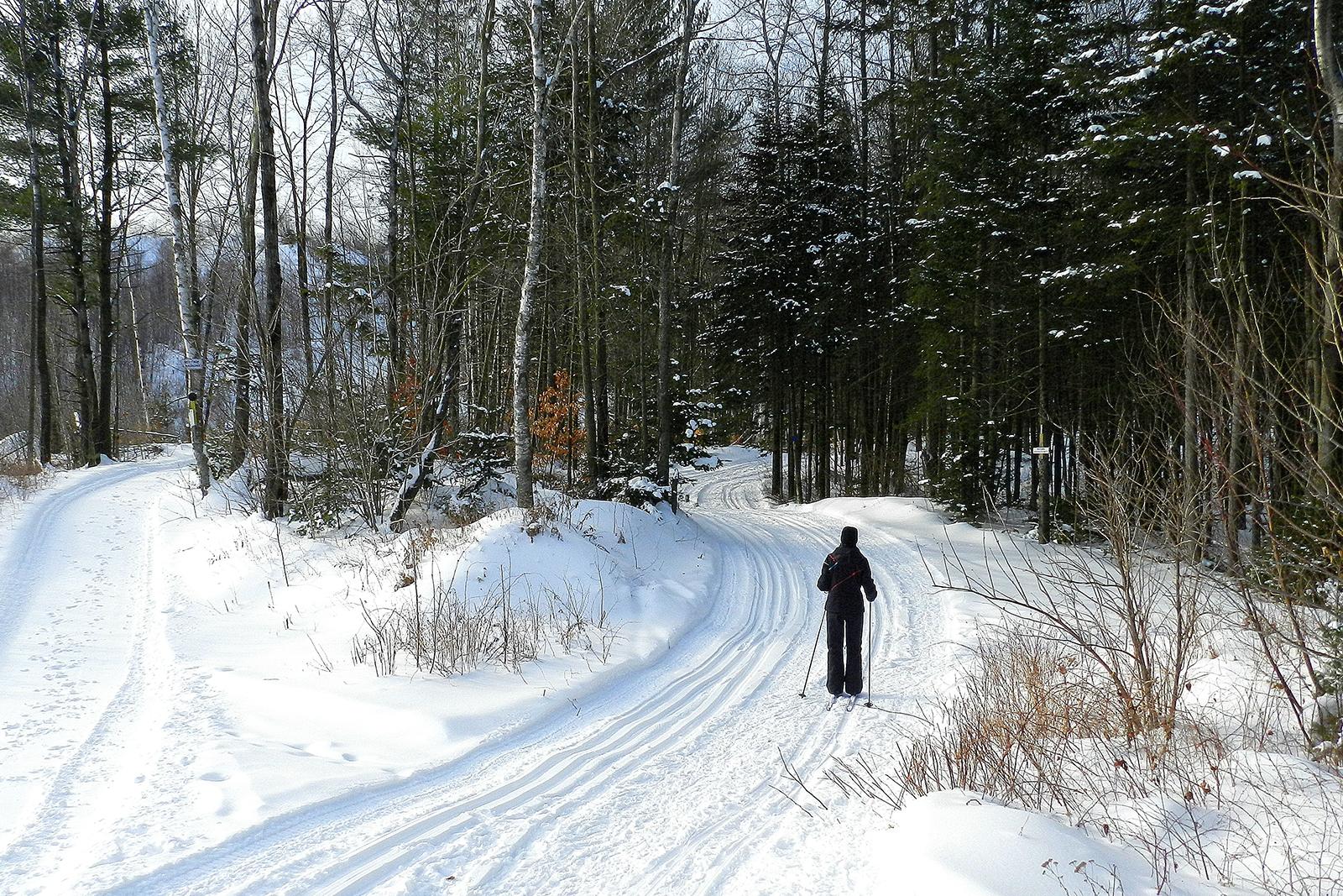 Lanaudière hiver Québec